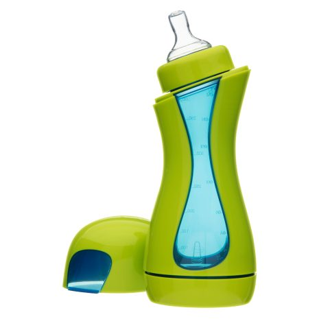 iiamo home green-blue baby bottle