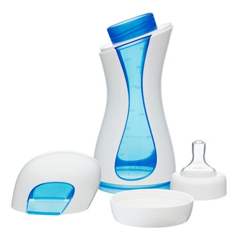 all parts of the easy to clean iiamo home baby drinking bottle
